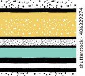 brushstrokes striped  seamless... | Shutterstock .eps vector #406329274