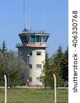 Small photo of Generic military air traffic control tower
