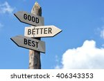 """good  better  best""   wooden... 