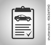 vehicle inspection icon | Shutterstock .eps vector #406369540
