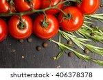 closeup photo  branch of ripe... | Shutterstock . vector #406378378