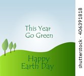 earth day | Shutterstock .eps vector #406391818
