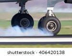 Airplane Landing Gear Touching...