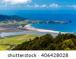 Small photo of Whangapou beach, Great Barrier Island, New Zealand