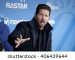 barcelona   april  9  diego...   Shutterstock . vector #406439644