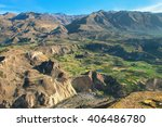 Stepped Terraces In Colca...