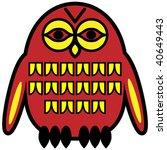 vector symbolic design in... | Shutterstock .eps vector #40649443