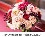 Colorful Bridal Bouquet