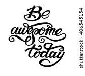 conceptual handwritten phrase... | Shutterstock .eps vector #406545154