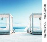 Beach Lounge   Sundeck On Sea...