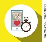 gym icon design   vector... | Shutterstock .eps vector #406628194