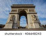 arc de triomphe etoile   Shutterstock . vector #406648243