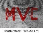 mvc in the form of binary code  ...