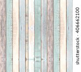 wall and floor old color wood... | Shutterstock . vector #406662100