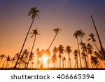 dramatic stunning morning light ... | Shutterstock . vector #406665394