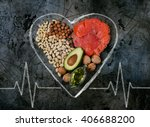 healthy fats. healthy fats for... | Shutterstock . vector #406688200