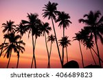tropic vew of beautiful coral... | Shutterstock . vector #406689823