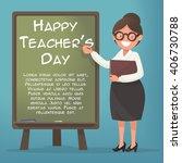 Happy Teacher's Day. A Kind...
