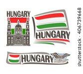 vector logo for hungary ...   Shutterstock .eps vector #406739668