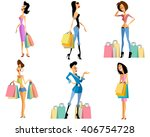 vector illustration of a... | Shutterstock .eps vector #406754728