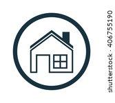 vector illustration of house...   Shutterstock .eps vector #406755190