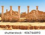 Temple Columns. Kato Paphos...