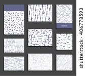 set of universal templates....   Shutterstock .eps vector #406778593