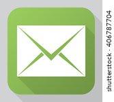 envelope icon vector  solid...