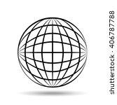 sphere icon design  | Shutterstock .eps vector #406787788