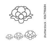 cauliflower | Shutterstock .eps vector #406798684