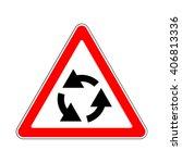 illustration of triangle... | Shutterstock .eps vector #406813336