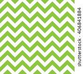 Zigzag Pattern In Green...