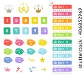 ranking  hand drawn icons  ... | Shutterstock .eps vector #406852969