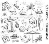 sketch collection sea vacation....