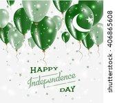 pakistan vector patriotic... | Shutterstock .eps vector #406865608