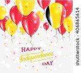 belgium independence day... | Shutterstock .eps vector #406865614