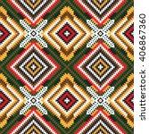 vector seamless  pattern ... | Shutterstock .eps vector #406867360