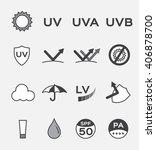 uv logo and icon vector  ... | Shutterstock .eps vector #406878700