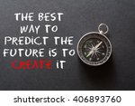 motivational quote to create...   Shutterstock . vector #406893760