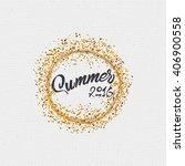 summer  a badge for your design ... | Shutterstock .eps vector #406900558