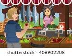 a vector illustration of man... | Shutterstock .eps vector #406902208