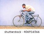 black american african man in... | Shutterstock . vector #406916566
