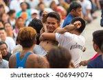 wat bang phra  thailand   mar...   Shutterstock . vector #406949074