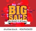 sale abstract with red... | Shutterstock .eps vector #406960600