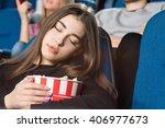 bon appetit  closeup shot of a... | Shutterstock . vector #406977673
