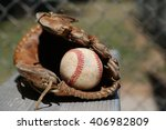 because baseball. | Shutterstock . vector #406982809