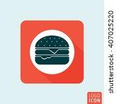 hamburger icon. fast food...
