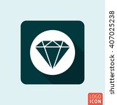 diamond icon. jewelry business...