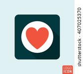 heart icon. vector illustration