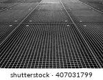 Metal Industrial Grid On The...